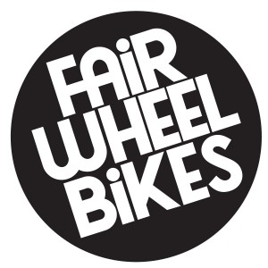 fairwheel logo circle black