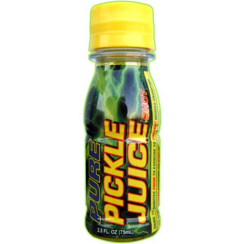 Pickle Juice- eliminating cramps since 2001. You'll need it for Oracle...